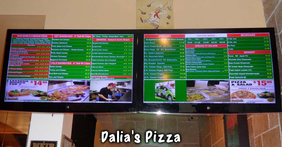 HD Sign Design digital menu board software