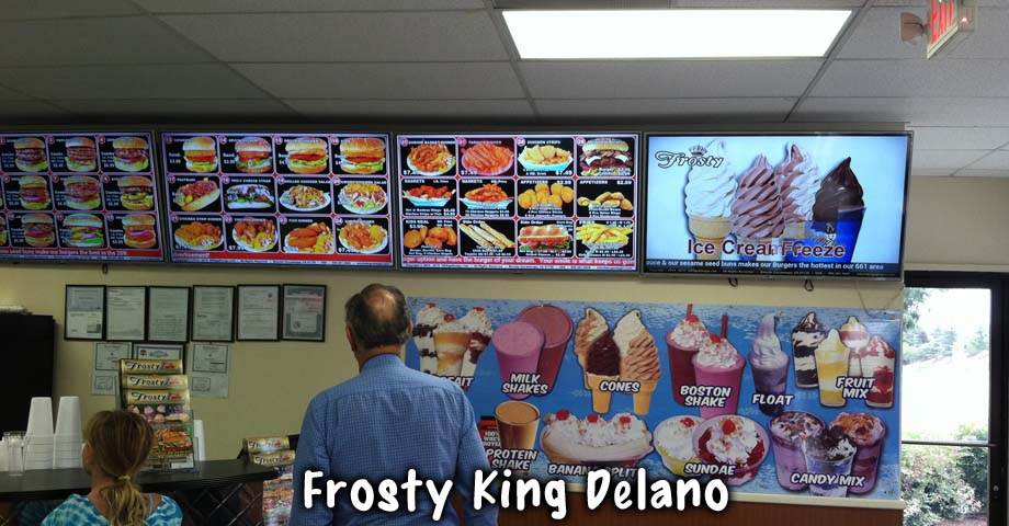 HD Sign Design digital menu burger king