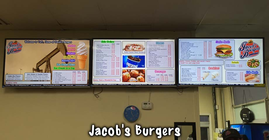 HD Sign Design digital menu cost