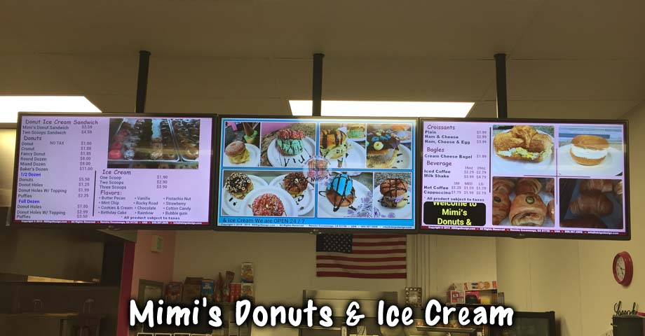 HD Sign Design digital menu signs