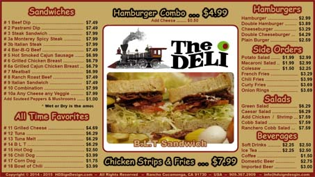 HD Sign Design Digital Menu Board App